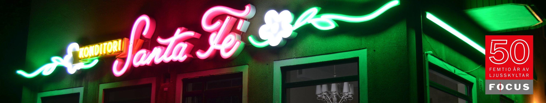 Neon och LED-skyltar