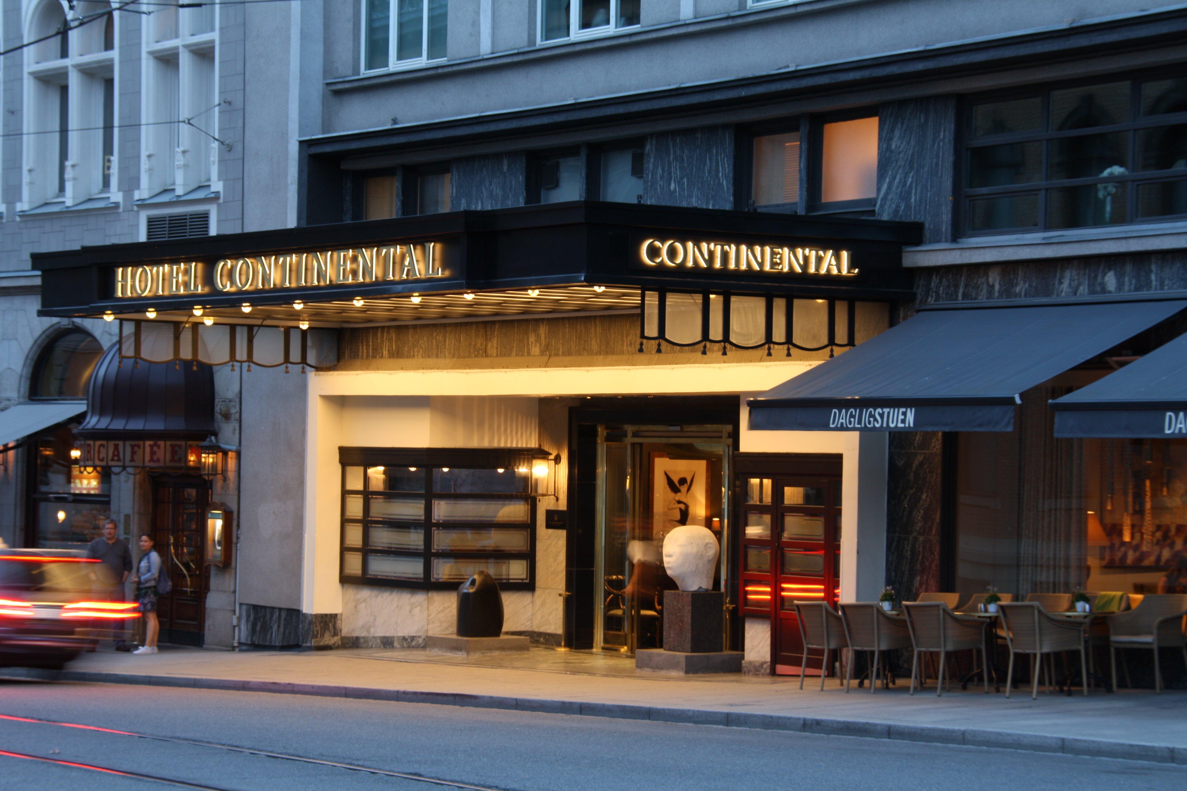 Skyltar Hotel Continental