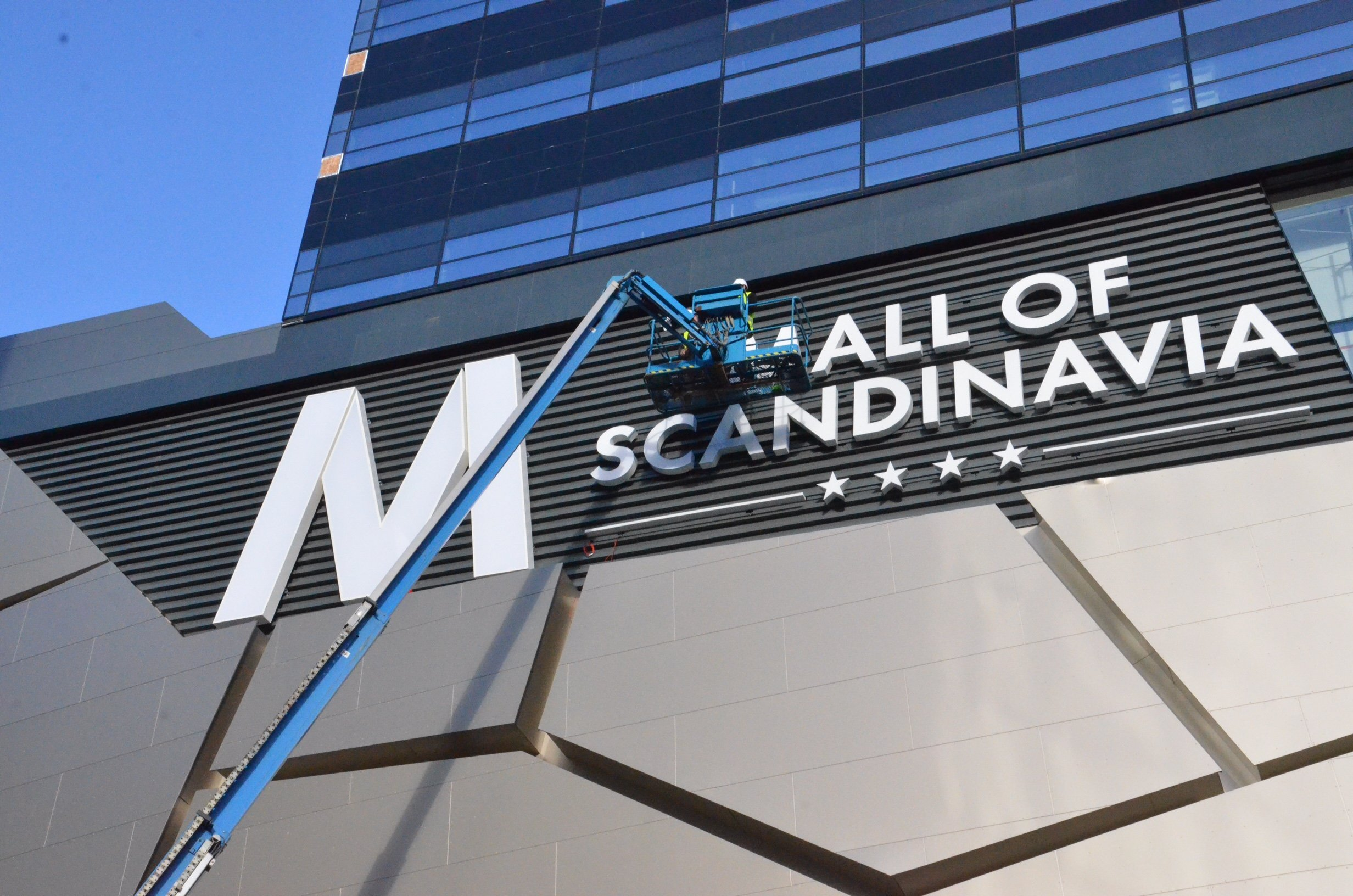 Skyltning Mall of Scandinavia
