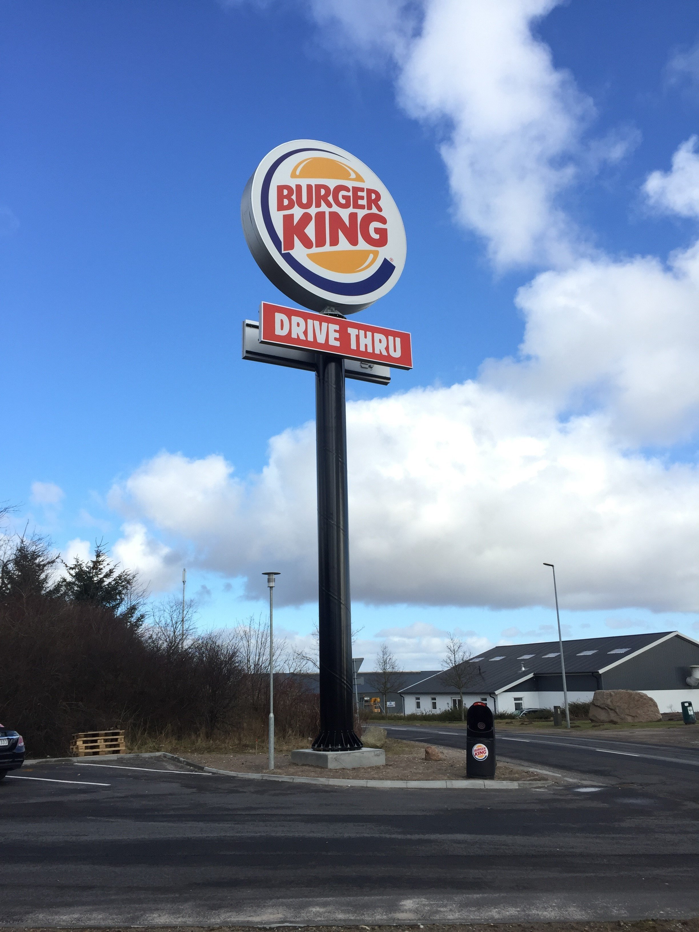 stolpskyltar Burger King