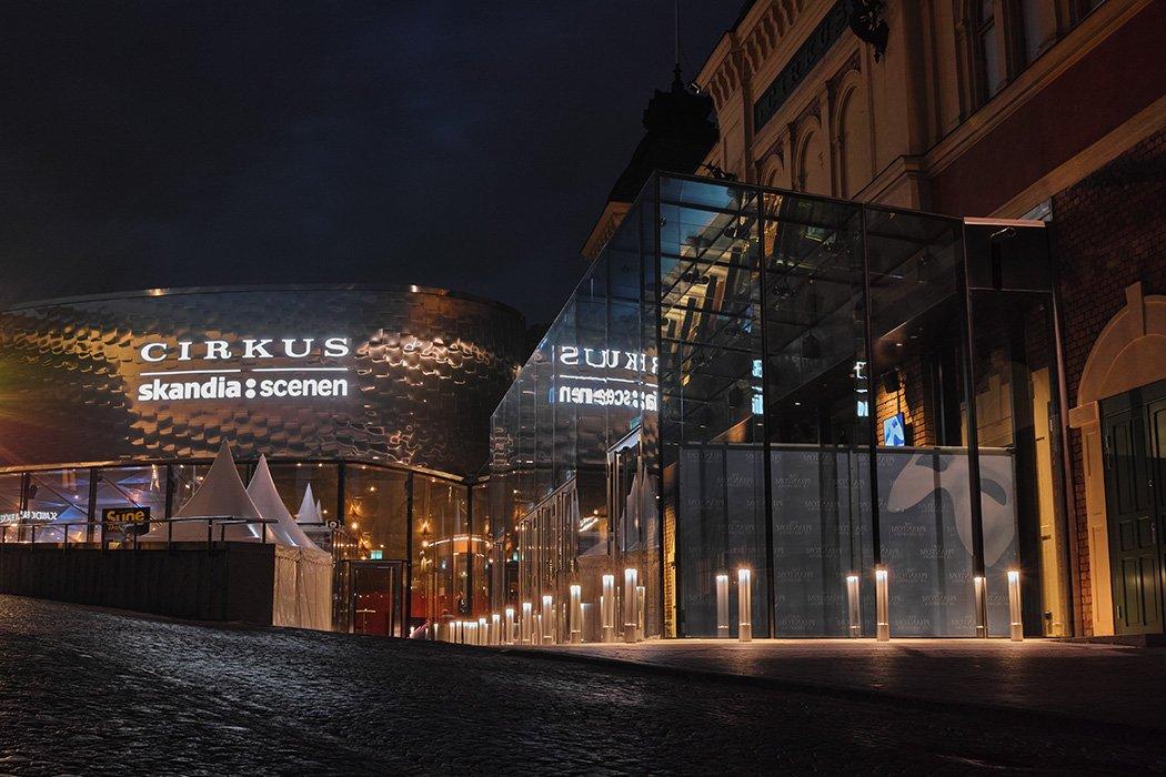 Cirkus Skandiascenen LPFLEX Focus Neon