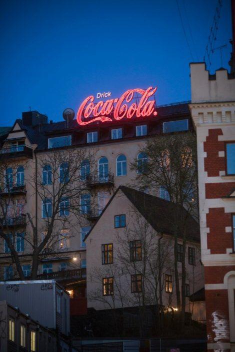 Coca-Cola Slussen neonliknande LED LPFLEX