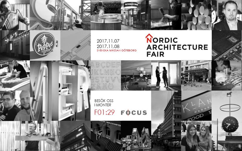 Nordic Architecture Fair Focus Neon 2017